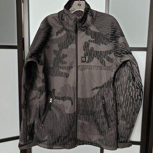 Burton Camo Reflecto water resistant jacket